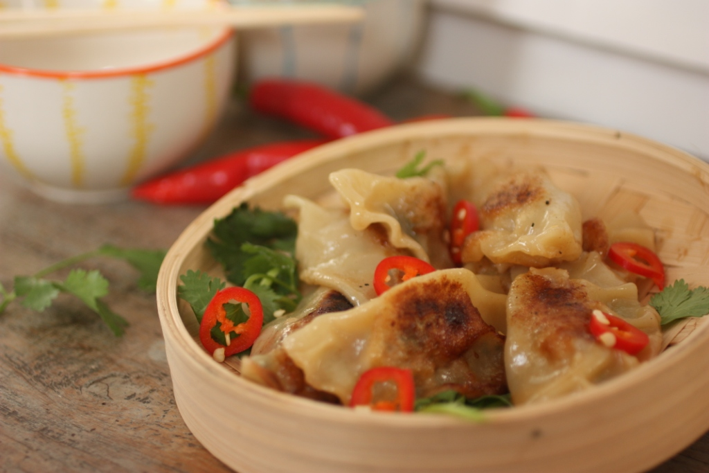Pot stickers 1