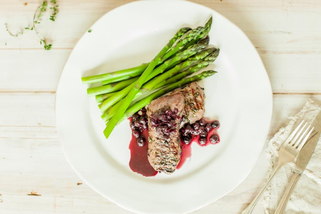 Seared Venison with Blueberry Jus2