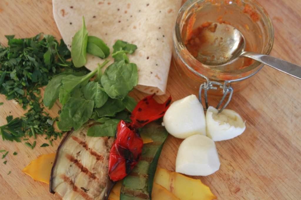 Char-grilled veg Burritos2