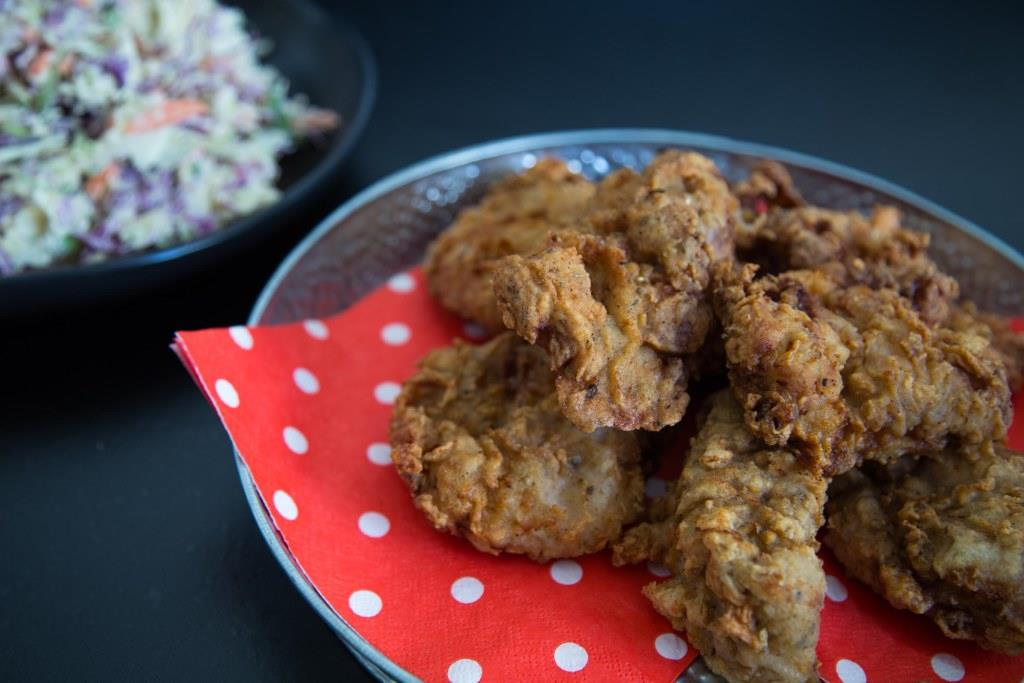 Herb-and-Spice Southern Fried Chicken Recipe — Dishmaps
